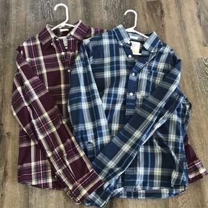 Men's Abercrombie shirt bundle